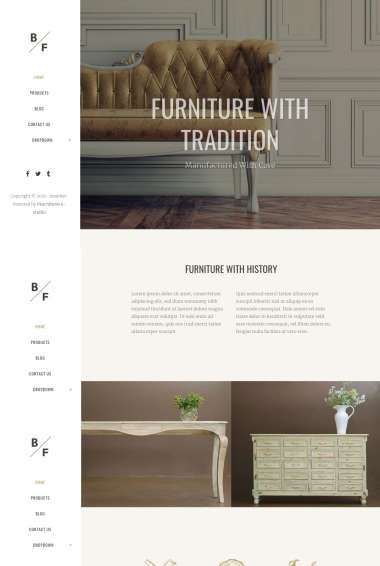 Bridge Furniture WP FREEmium Theme Series