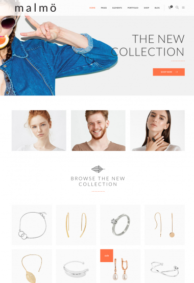 Malmo Jewelries WP FREEmium Theme Series