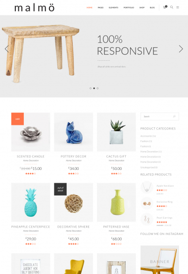 Malmo Shop WP FREEmium Theme Series