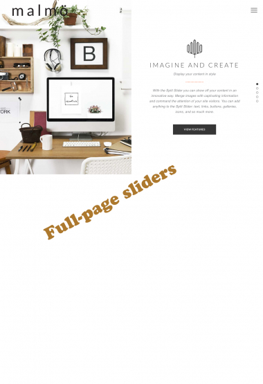 Malmo Slider WP FREEmium Theme Series