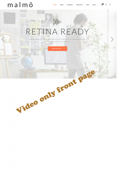 Malmo Video WP FREEmium Theme Series