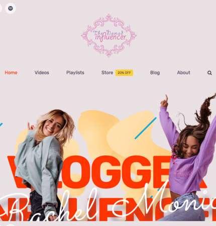Managed Web Hosting Theme WP-AV-influencer Theme Series