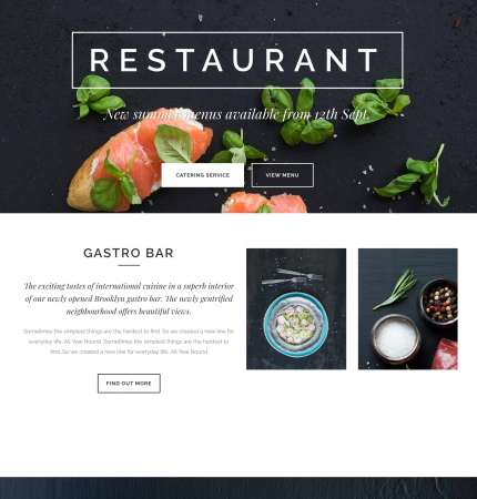 Bridge Resto WP FREEmium Theme Series