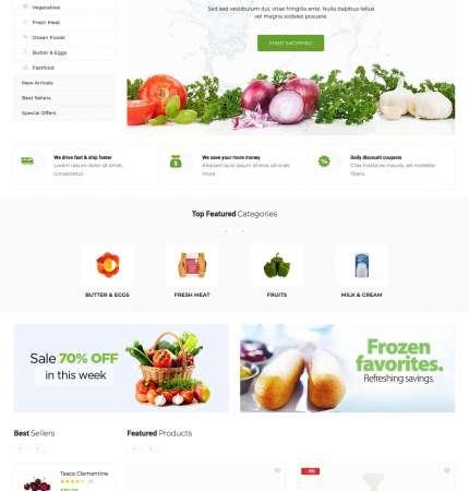 Greenmart WC-4 FREEmium Theme Series