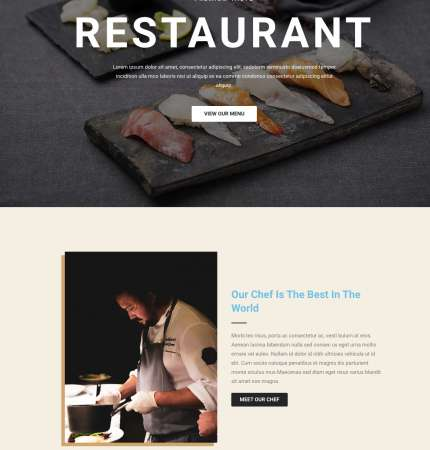 Pearl Resto Non-Ecommerce WP FREEmium Theme Series