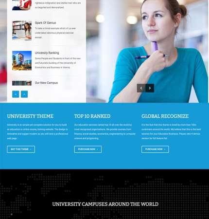 University H1 WP FREEmium Theme Series