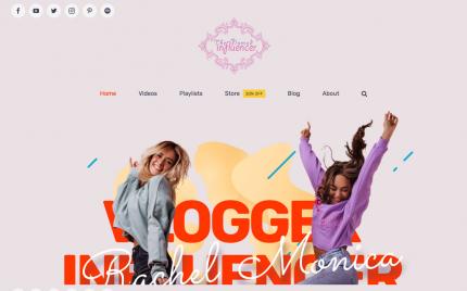 WP-AV-influencer FREEmium Theme Series