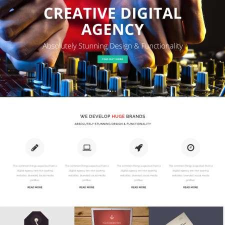 Bridge Agency WP FREEmium Theme Series