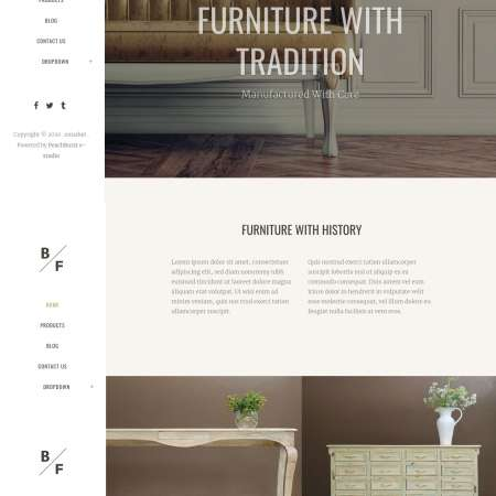 Bridge Furniture WP FREEmium Theme Series | Bridge Furniture WP-01-1MS-Mini-2