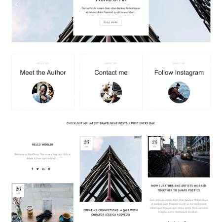 Bridge Lifestyle WP FREEmium Theme Series | Bridge Lifestyle WP-01-1MS-Mini-2