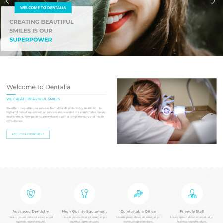 Dentalia WP-3 FREEmium Theme Series