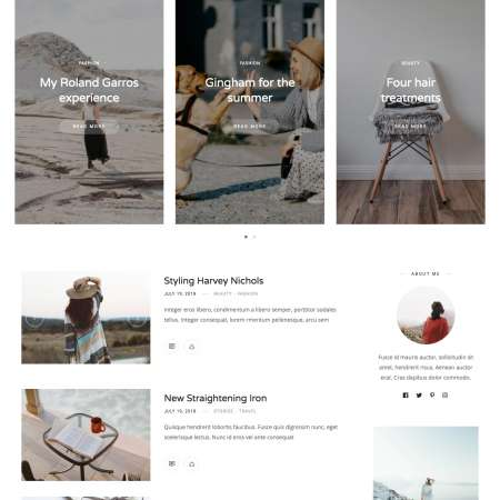 Rima Home List WP FREEmium Theme Series