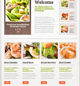 Drupal Restaurant Website 43773