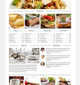 Drupal Restaurant Website 49236