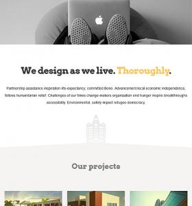 Architecture Website WP 52089