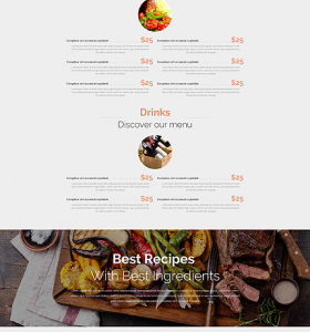 Drupal Restaurant Website 52671