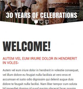 Drupal Restaurant Website 52819