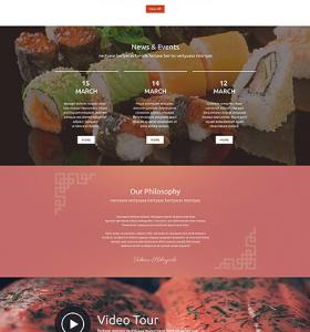 Drupal Restaurant Website 54603