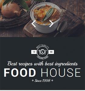 Drupal Restaurant Website 57611