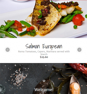 Drupal Restaurant Website 57868