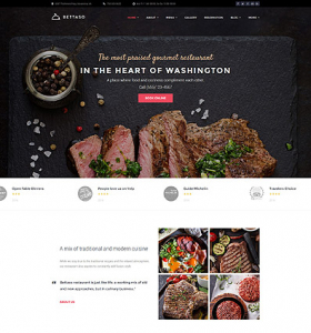 Restaurant Website WP 59007