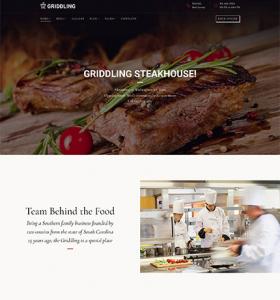 Restaurant Website WP 63410