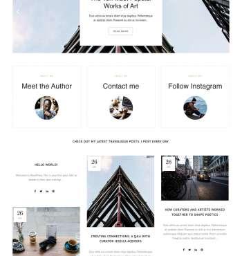 Bridge Lifestyle WP FREEmium Theme Series