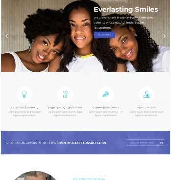Dentalia WP-1 FREEmium Theme Series