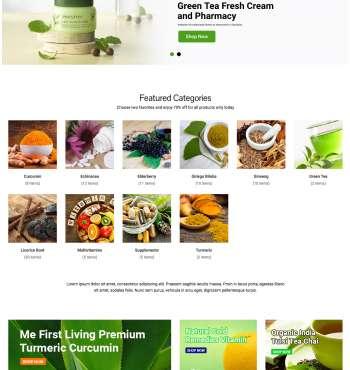 Greenmart Health WC-2 FREEmium Theme Series