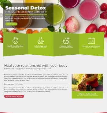 Healthflex Wellness WP FREEmium Theme Series