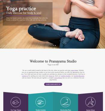 Healthflex Yoga WP FREEmium Theme Series