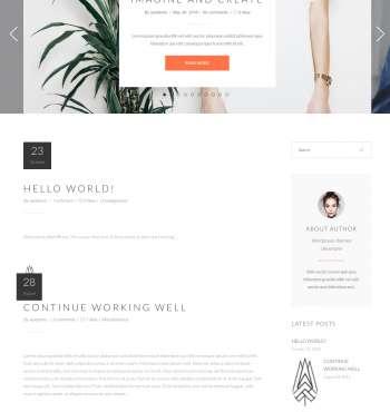 Malmo Blog WP FREEmium Theme Series