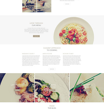 Drupal Restaurant Website 53752