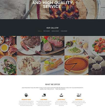 Drupal Restaurant Website 57611