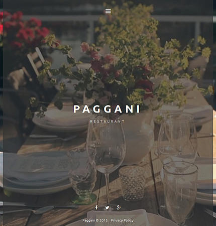 Restaurant Website WP 55262