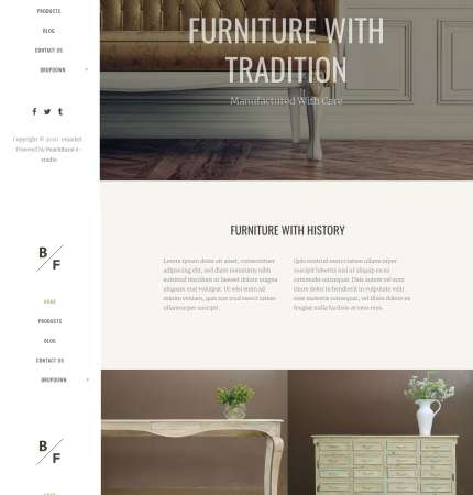 Bridge Furniture WP FREEmium Theme Series | Bridge Furniture WP-01-1MS-Mini-2