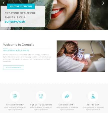 Dentalia WP-3 FREEmium Theme Series