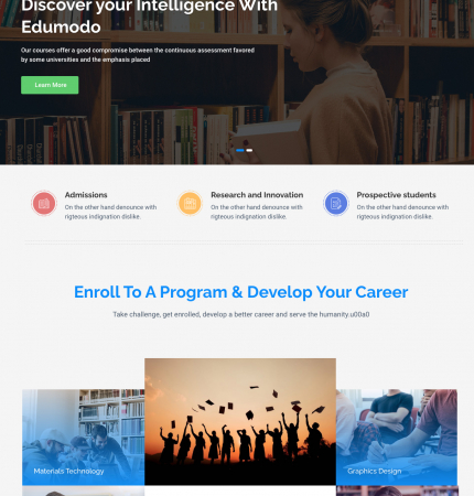 Edumodo 02 WP FREEmium Theme Series