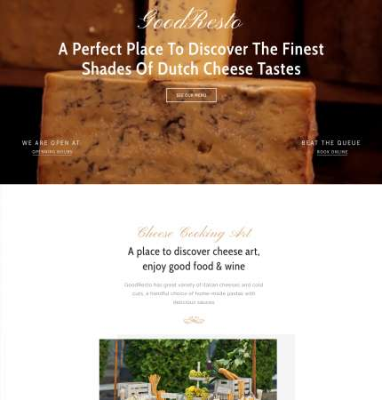 Good Resto H3 Ecommerce WP FREEmium Theme Series