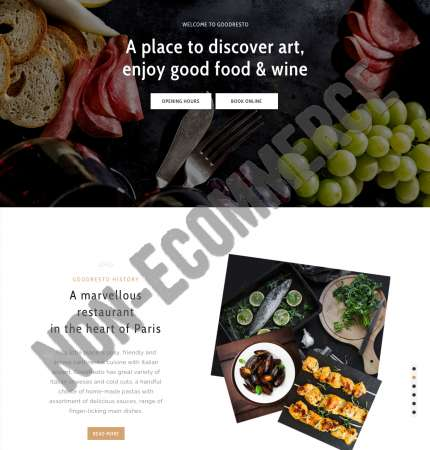 Good Resto H5 Non-Ecommerce WP FREEmium Theme Series | Good Resto H5 Non-Ecommerce WP-01-1MS-Mini-2