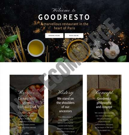 Good Resto H6 Non-Ecommerce WP FREEmium Theme Series | Good Resto H6 Non-Ecommerce WP-01-1MS-Mini-2