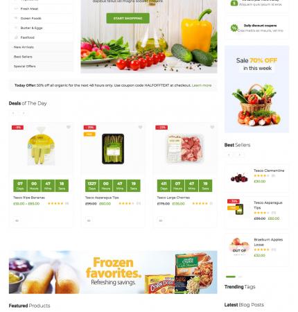 Greenmart WC-7 FREEmium Theme Series