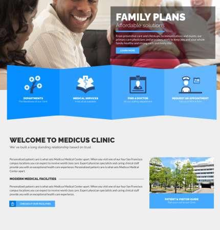 Healthflex Med WP FREEmium Theme Series