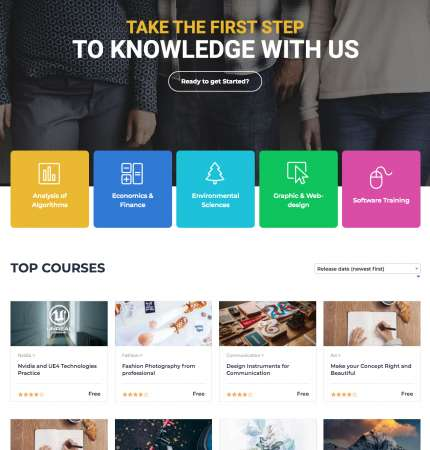 Master Academy WP FREEmium Theme Series