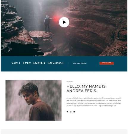 Rima Daily WP FREEmium Theme Series
